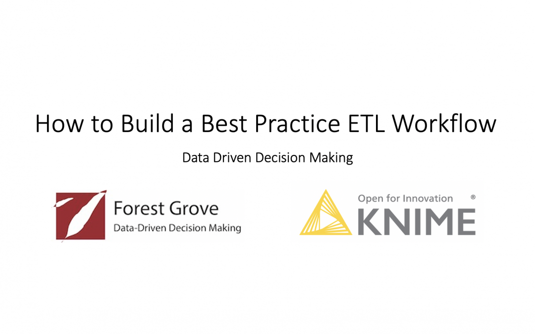 How to Build a Best Practice ETL Workflow with KNIME